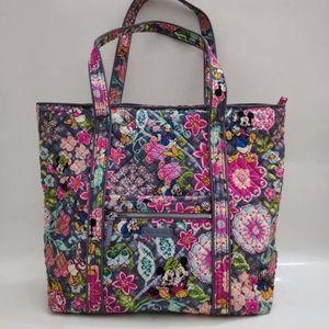Vera Bradley Iconic Vera Tote Bag Disney Mickey an